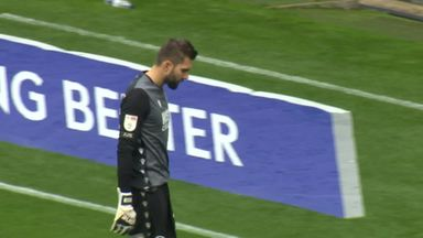 Howler from Millwall's Bialkowski!