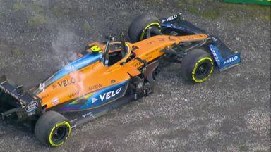 Norris retires for McLaren