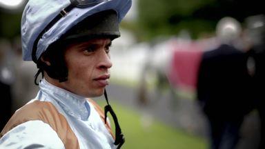 Levey: A black jockey leading the way