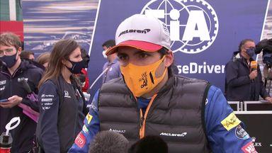 Sainz: Leading the race was fun!