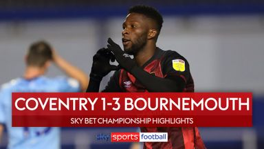 Coventry 1-3 Bournemouth