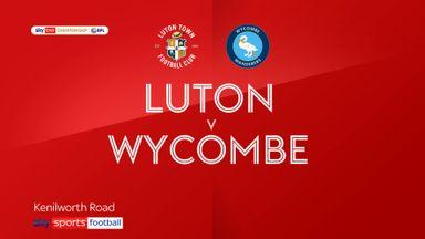 Luton 2-0 Wycombe