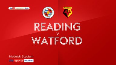 Reading 1-0 Watford