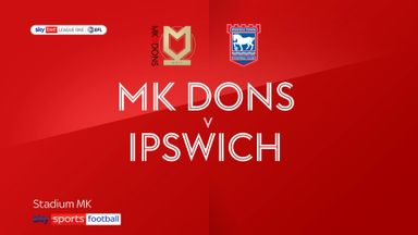 MK Dons 1-1 Ipswich