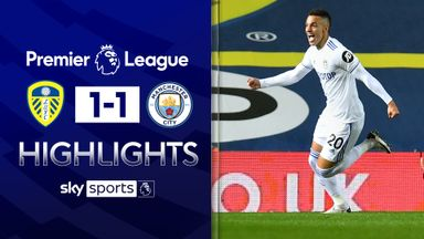 Leeds hold Man City in thriller