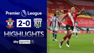Southampton ease past West Brom
