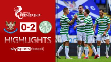 St Johnstone 0-2 Celtic