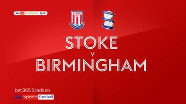 Stoke 1-1 Birmingham