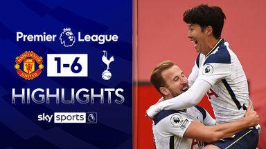 Spurs thrash Man Utd at Old Trafford