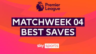 PL Best Saves: Matchweek 4
