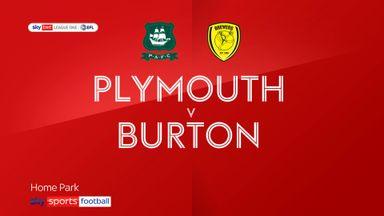 Plymouth 2-0 Burton