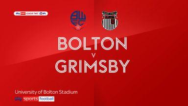Bolton 0-0 Grimsby