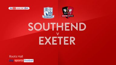 Southend 2-2 Exeter