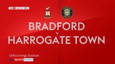 Bradford 0-1 Harrogate Town
