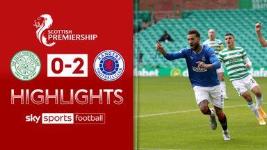 Celtic 0-2 Rangers