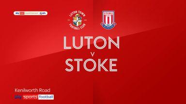 Luton 0-2 Stoke