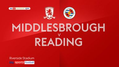 Middlesbrough 0-0 Reading