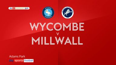 Wycombe 1-2 Millwall