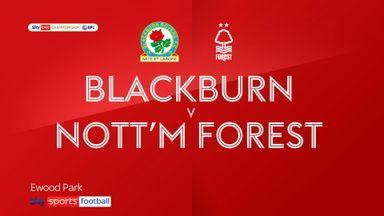 Blackburn 0-1 Nottingham Forest
