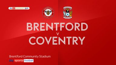 Brentford 2-0 Coventry