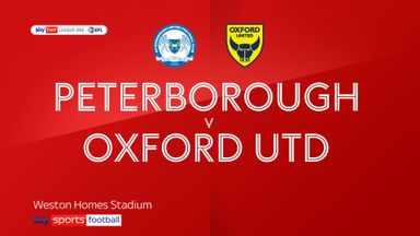 Peterborough 2-0 Oxford