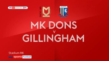 MK Dons 2-0 Gillingham