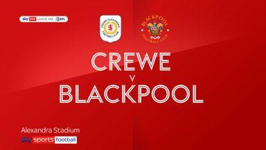 Crewe 1-1 Blackpool
