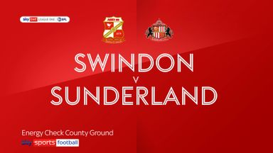 Swindon 0-2 Sunderland