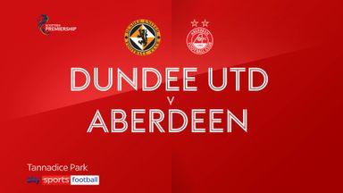 Dundee Utd 0-0 Aberdeen