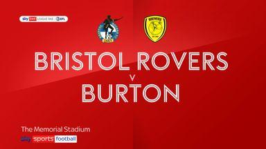 Bristol Rovers 1-1 Burton