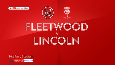 Fleetwood 0-0 Lincoln
