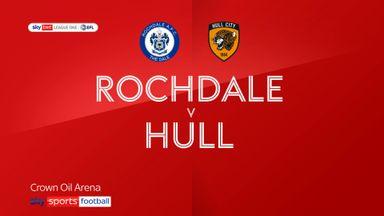 Rochdale 0-3 Hull
