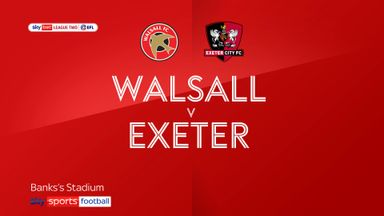 Walsall 0-0 Exeter