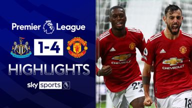 Late goals help Man Utd overcome Newcastle