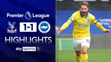 Mac Allister earns Brighton a point at Palace