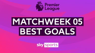 PL Best Goals: Matchweek 5