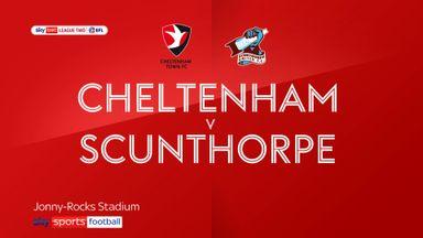 Cheltenham 1-0 Scunthorpe