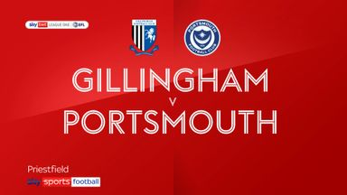 Gillingham 0-2 Portsmouth