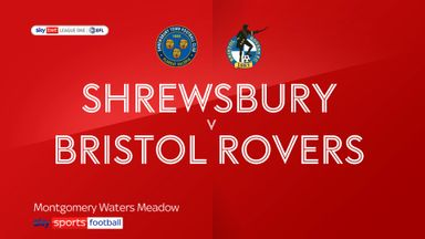 Shrewsbury 0-1 Bristol Rovers