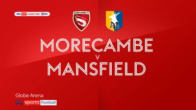 Morecambe 1-1 Mansfield