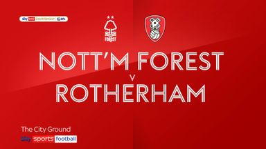 Nottingham Forest 1-1 Rotherham