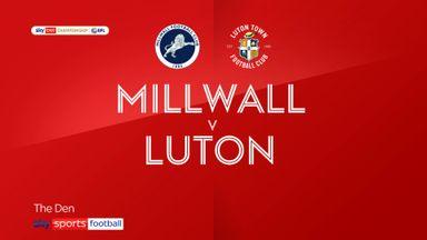 Millwall 2-0 Luton