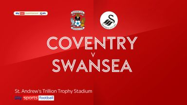 Coventry 1-1 Swansea
