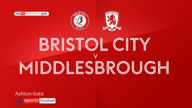 Bristol City 0-1 Middlesbrough
