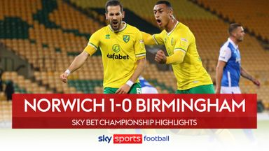Norwich 1-0 Birmingham