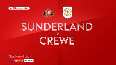 Sunderland 1-0 Crewe
