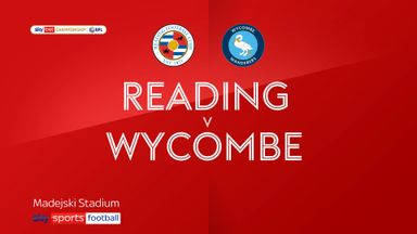 Reading 1-0 Wycombe