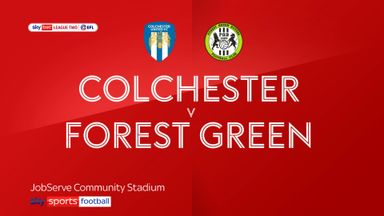 Colchester 1-0 Forest Green