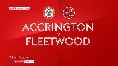 Accrington 1-0 Fleetwood