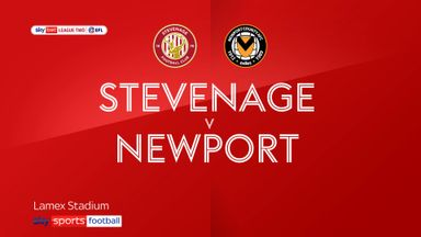 Stevenage 0-1 Newport County